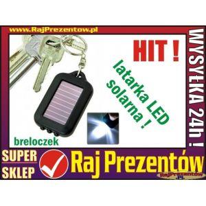 Latarka solarna LED