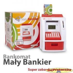 Bankomat Mały Bankier - LICZĄCA SKARBONKA - PL