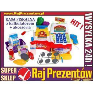 KASA SKLEPOWA /  FISKALNA z wagą i kalkulatorem + akcesoria