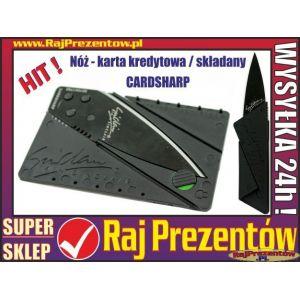 Nóż składany - karta kredytowa - CARDSHARP
