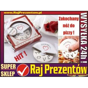 Zakochany nóż do pizzy