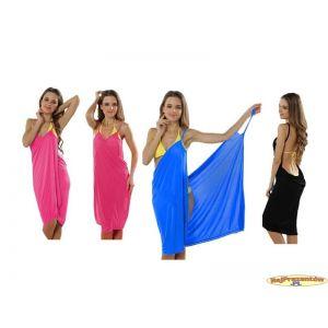 Ręcznik, sukienka plażowa, pareo - 3 w 1
